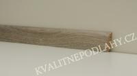 Soklová lišta MDF KP 40 Dub šedý 13117 cena za 1bm