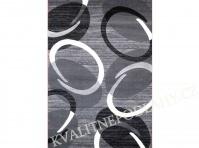 Kusový koberec FLORIDA 80 x 150 cm šedý