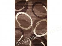Kusový koberec FLORIDA 80 x 150 cm hnědý