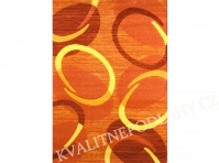 Kusový koberec FLORIDA 80 x 150 cm oranžový