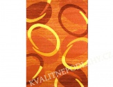 Kusový koberec FLORIDA 120 x 170 cm oranžový