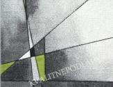 Kusový koberec BRILLIANCE 80 x 150 cm zelenošedý