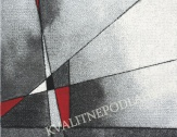 Kusový koberec BRILLIANCE 160 x 230 cm červenošedý