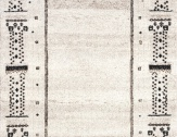 Kusový koberec ETHNO 80 x 150 cm béžový