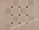 Kusový koberec FLOORLUX 120 x 170 cm šedočerný S/B 20079
