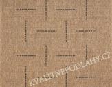 Kusový koberec FLOORLUX 160 x 230 cm černobéžový