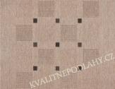 Kusový koberec FLOORLUX 60 x 110 cm šedočerný S/B 20079