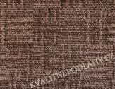 Bytový koberec MARIOKA šíře 4m hnědopísková
