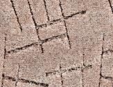 Bytový koberec SYMPHONY šíře 4m světle hnědá
