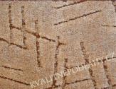Bytový koberec SYMPHONY šíře 4m tmavě béžová