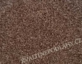 VZOREK Bellagio Betap 93 tmavě hnědá bytový koberec