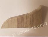 Koncovka levá k soklové liště SLK 50 W173