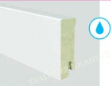 Soklová lišta WATERPROOF voděodolná Bílá 19×60mm