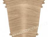 Kout (vnitřní) k soklové liště SLK 50  W166