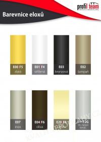 Hliníková podlahová lišta samolepící Šampaň Q63 cena za 1 bm