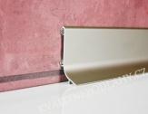 Hliníková podlahová lišta samolepící inox E07 Q63 cena za 1 bm Q63-2707 2