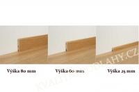 Par-ky soklová lišta 3 in one Dub - Umber Oak