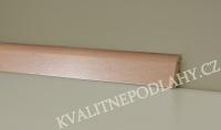Soklová lišta KP 40 54001 Buk přírodní cena za 1bm