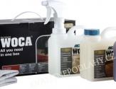WOCA Box s pečujícím olejem - přírodní