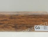 Plastová lišta PREXA 54 G5 dub