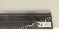 Plastová lišta PREXA 54 K9 dub grafit