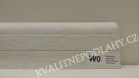 Plastová lišta PREXA 54 W0 dub jasný