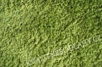 Koberec Vysoký Vlas Jasně Zelená 80x80cm