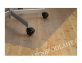 Podložka pod židle  hladká tl. 1,8 mm 120x100 cm