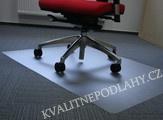 Podložka pod židle s nopy na koberce rozměr 120x90 cm