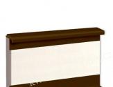 BOLTA lišta HNĚDÁ 5309 k vinylovým podlahám
