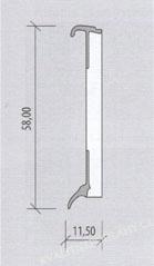BOLTA lišta ŠAMPAŇ 0880 k vinylovým podlahám